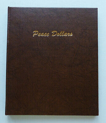 Dansco Coin Album - Peace Silver Dollar 1921-1935-S - 2 Pages - Lightly Used!!