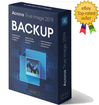 Acronis True Image 2019 For Windows Lifetime Full Time Activation