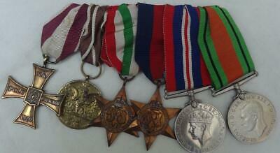Ww11 Polish Medals - 1920 Polish Cross Of Valor 1939 - 45 Army Medal + Uk Medals