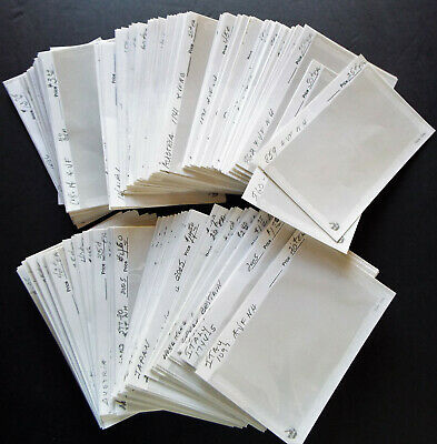 200 USED 104a STAMP DISPLAY CARDS