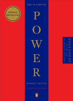 The 48 Laws of Power By ROBERT GREENE - Fast Shipping