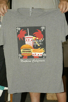 In N Out Burger T Shirt California Car Culture Classic Route 66