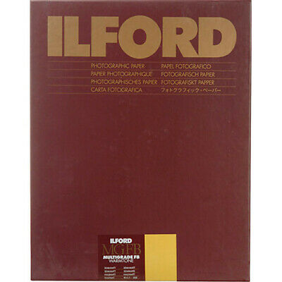 Ilford MGFB Warmtone Semimatte - 11inx14in 50 Sheets
