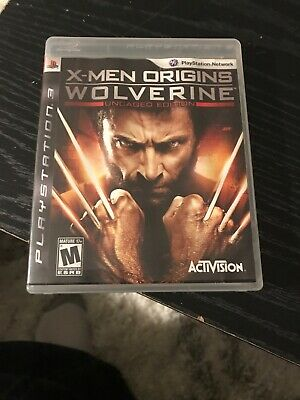 X-MEN ORIGINS: WOLVERINE UNCAGED EDITION for Sony PlayStation 3 PS3