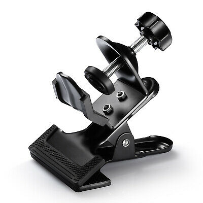Neewer Multi-Functional Black Clamp Clip Holder with U-Clamp