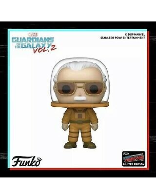 Stan Lee Guardians Of The Galaxy NYCC Exclusive SHARED Funko Pop Vinyl PRE-ORDER