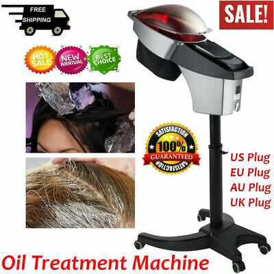 Floor Stand Hair Dryer Heater Dyeing Perming Oil Treatment Barber Styling Device