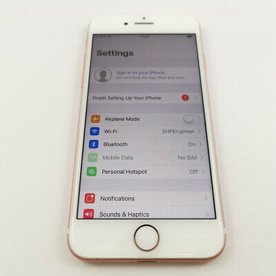 Apple iPhone 7 128Gb Unlocked Rose Gold FAULTY - READ LISTING (132)