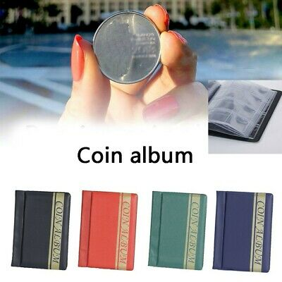 120 Pockets Coins Album Collection Book Commemorative Coin Holder Collector BooK