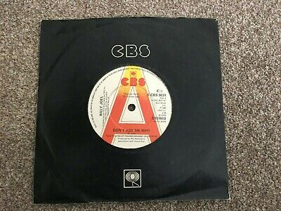 """Billy Joel-Don't ask me why.7"""" promo"""