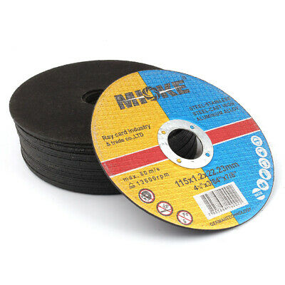 115mm Resin Cutting Discs Grinding Metal Cut Off Blade for Angle Grinder 2 Piece