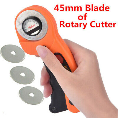 Aloy Steel 45mm Circular Cutting Rotary Cutter Sewing Quilting Tool Refill Blade