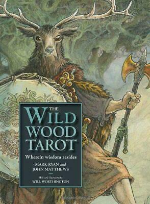 The Wildwood Tarot by Mark Ryan, NEW Book, FREE & FAST Delivery, (Hardcover)