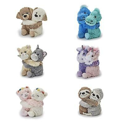 Warmies Warm Hugs Microwaveable Animal Soft Cuddly Toy With Lavender Scent