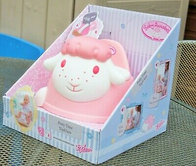 Baby Annabell Potty Time with sounds BNIB Perfect Gift Zapf Creation