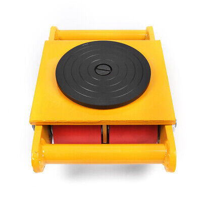 6T/13200lb Heavy Duty Machine Dolly Skate Machinery Roller Mover Cargo
