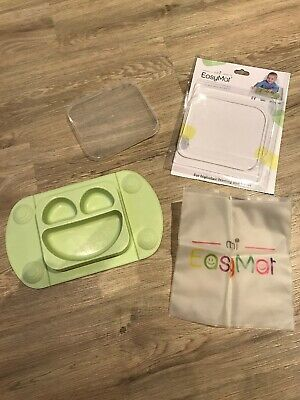 Mini Easymat Baby Led Weaning, Baby Plate With Suction.