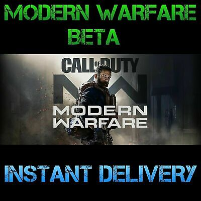 Call of Duty: Modern Warfare Early Access_BETAs PS4 ONLY Code INSTANT DELIVERY