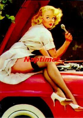 Marilyn Monroe Pin-Up By Erl Moran #006