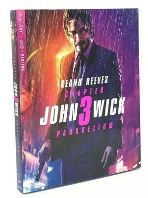 John Wick: Chapter 3 - Parabellum [2019] Blu-ray+DVD+Digital with Slipcover