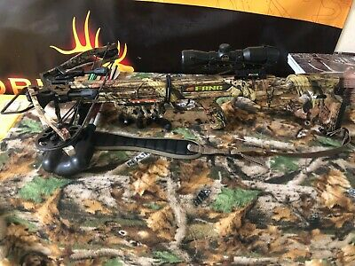 Used! PSE Fang Crossbow Package! 345 FPS! (w/Cocking Device)