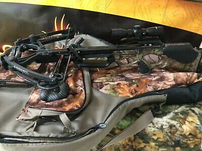 Used! Barnett BCXtreme Crossbow Package! 365 FPS! (w/Cocking Device)