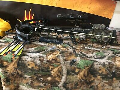 Used! Stryker Strykezone 380 Crossbow Package! 380 FPS! w/Cocking Device