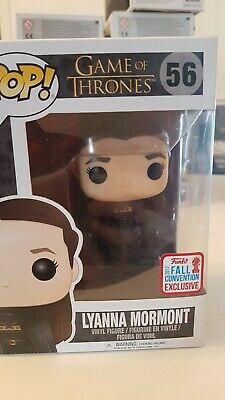 Funko POP Game of Thrones Lyanna Mormont Fall Convention Exclusive 2017 #56 NIB