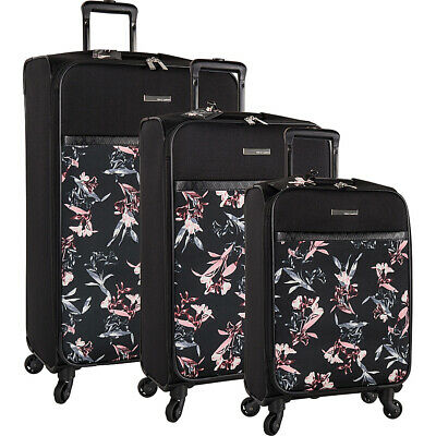 Vince Camuto Luggage Kylee 3 Piece Expandable Spinner Luggage Set NEW