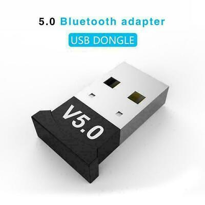 USB Black Adapter For Bluetooth V5.0 PC PS4 Xbox One Receiver Laptop Comput Q5K0