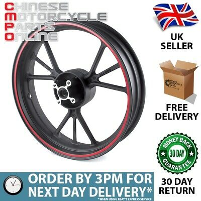 Motorcycle Wheel (Rear) Red Stripe for Lexmoto (MRW071)
