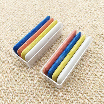 4PCS Making Needle Colorful DIY Sewing Fabric Erasable Tailor Chalk Dressmakers