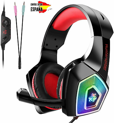 Auriculares Cascos con microfono diadema gamer gaming PS4 XBOX PC FORNITE