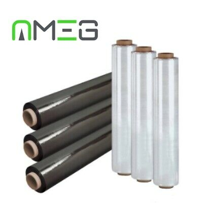 STRONG ROLLS  PALLET STRETCH SHRINK WRAP PARCEL PACKING CLING FILM 23mu 500mm