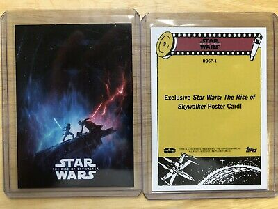 2019 TOPPS NOW STAR WARS THE RISE OF SKYWALKER ON DEMAND POSTER CARD SP 1 Of 795