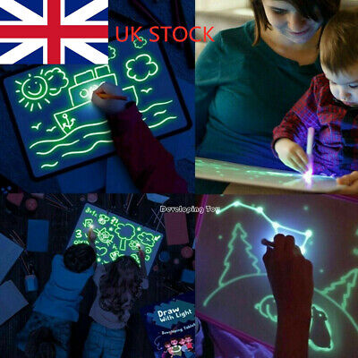 Draw With Light Fun And Developing Toy Drawing Board Magic Draw Educational UK W