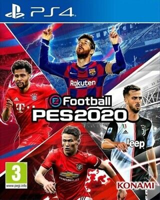 eFootball: PES 2020 (PS4) PEGI 3+ Sport: Football   Soccer Fast and FREE P & P