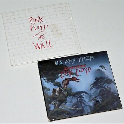 PINK FLOYD ~ THE WALL & US AND THEM (SYMPHONIC PINK FLOYD) ~ 3 CD digipak- Good