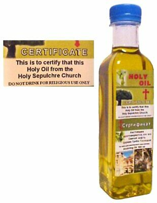 Large Holy Oil from Bethlehem - Made in Bethlehem