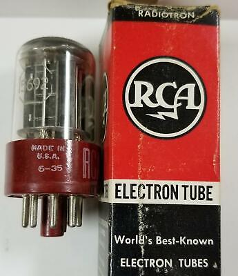 One New In Box Rca 5692 Red Base Tube !  Pk