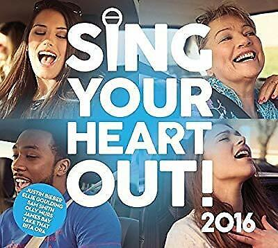 Sing Your Heart Out 2016, Various Artists, Used; Good CD