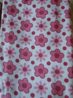Beautiful Floral Vintage/Retro Luxury Flannelette pair of Pillowcases