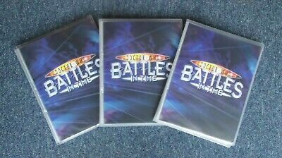 Dr Who Battles in Time Complete 7 Set Collection in 3 Albums/Binders inc.1013