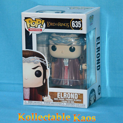 The Lord of the Rings - Elrond Pop! Vinyl Figure #635 + protector