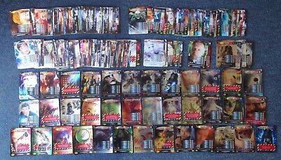Dr Doctor Who Battles in Time 294 Different Cards - all listed - great condition