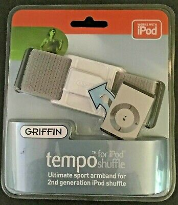 GRIFFIN TEMPO Sport Armband for IPOD SHUFFLE  (2nd Generation) - New and Sealed