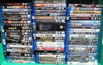 Collection of Blu-Ray DVD Movies Films Job Lot Bundle Various Titles #12389