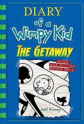 The Getaway (Diary of a Wimpy Kid Book 12) by Jeff Kinney (English) Hardcover Bo