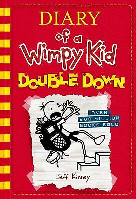 Double Down (Diary of a Wimpy Kid #11) by Jeff Kinney (English) Hardcover Book F