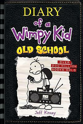 Old School (Diary of a Wimpy Kid #10) by Jeff Kinney (English) Hardcover Book Fr
